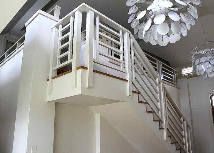 Internal timber balustrade 1