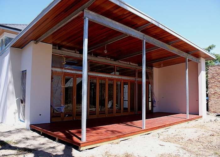 Jarrah timber decking 2