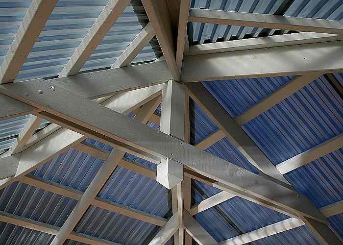 Timber patio hip roof 1