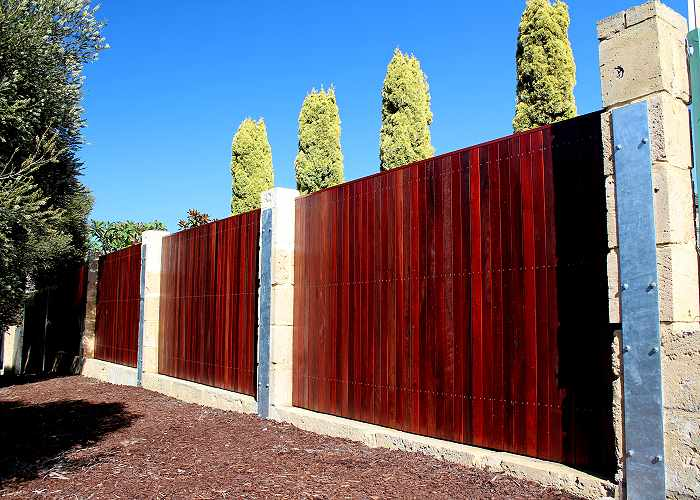 jarrah-timber-fencing