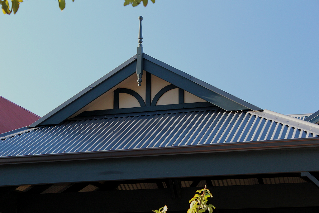 Double Timber Carport With Colorbond Dutch Gable Roof